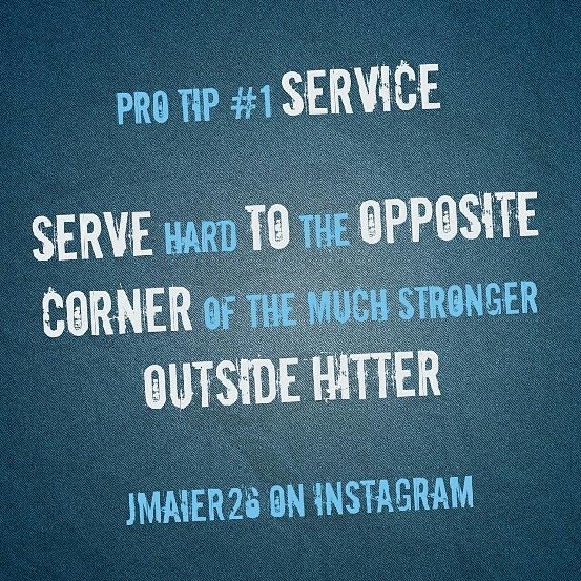 Eksperttips #1 - Serve