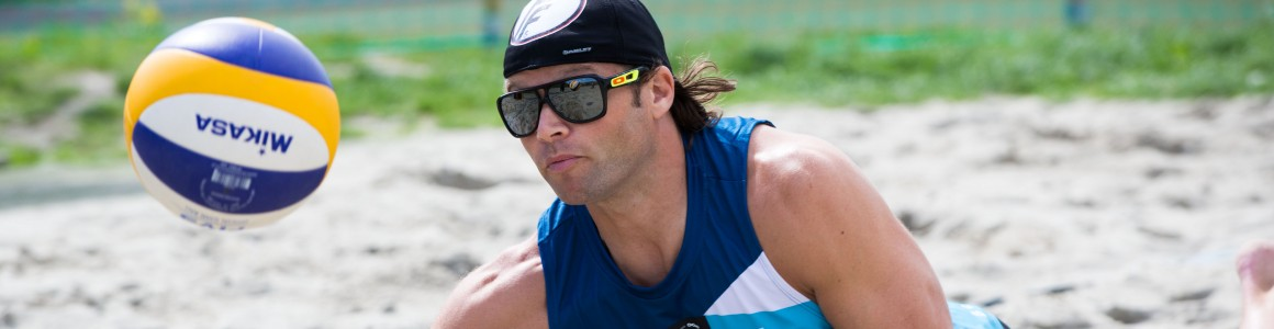 EM sandvolleyball 2014: Horrem-Eithun vs Brouwer-Meeuwsen