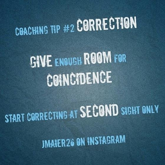 Trenertips #2 - Korreksjon
