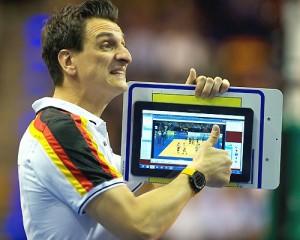 Giovanni Guidetti coach siden april 2006 for det tyske damelandslaget.