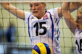 Kjersti Norveel, Flint Volley. Foto: Tomm Hansen
