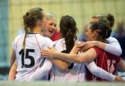 Mari Aase Hole med resten av landslaget. Foto: Tomm Hansen