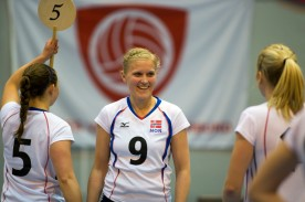 Trine Melsether, Oslo Volley . Foto: Tomm Hansen