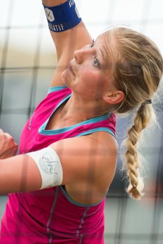 Ingrid Lunde og Vilde Solvoll fra årets første NT Masters-turnering som ble spilt 23-25. mai 2014 på jentenes hjemmebane Voldsløkka i Oslo. Foto: Tomm Hansen