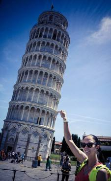 Gamova på Italiaferie