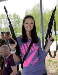 Gamova på militærbesøk