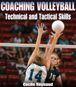 Omslag på boken Coaching Volleyball Technical & Tactical Skills