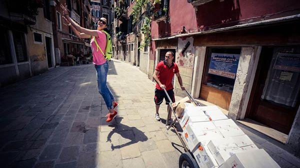 Gamova var på ferie i Italia i sommer før hun bestemte seg for å delta i VM for Russland.