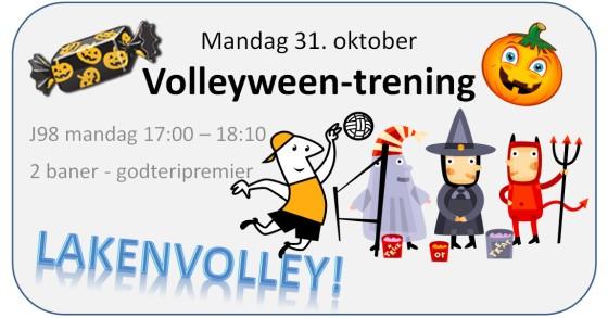 Kolbotn har tidligere avholdt Volleyween-trening med lakenvolley. Det er veldig moro!