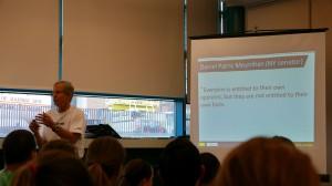 GMS-grunnlegger Carl McGown innledet om fakta som fundament for GMS-metoden