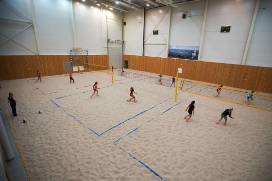 Sandvolleyball på Sand