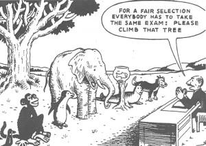 Ingen enkel oppgave å måle ferdigheter