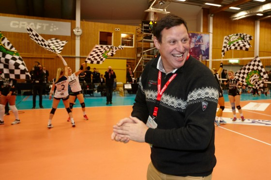 Tom Tvedt smilte bredt på Cupfinalen