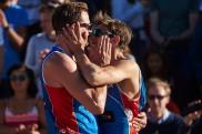 Øivind Hordvik og Mathias Berntsen fant tonen i tide til å sikre NM-gull