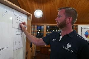 Audun Stensvik i aksjon som klubbutvikler