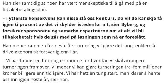 Daglig leder i 2015 Sveinung Byberg til Dagsavisen
