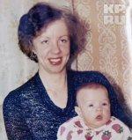 Gamova med sin mor
