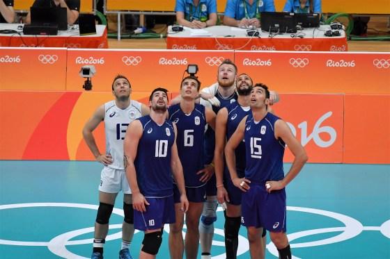 Italia likte best å se seg selv på video i OL