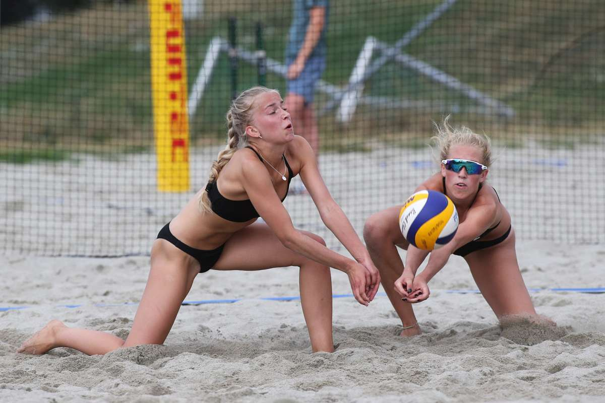 Visuelt fra NM sandvolleyball U19 - Dag 1