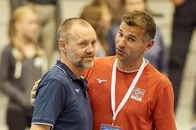 Norge Spania EM kvalik 2018050